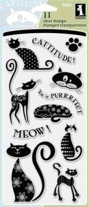 Inkadinkado Clear Stamps CATS 97621