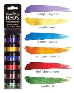 Twinkling H2O BASIC RAINBOW KIT Shimmering Watercolors 97741