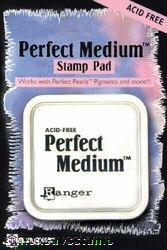 Ranger PERFECT MEDIUM STAMP PAD Pearls Clear Ink PPP16205 zoom image