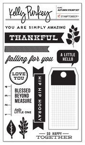 Kelly Purkey Clear Stamps AUTUMN AUT912 Preview Image