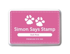 Simon Says Stamp Premium Dye Ink Pad DOLL PINK ink016