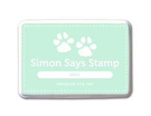 Simon Says Stamp Premium Dye Ink Pad MINT ink017 Preview Image