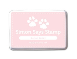 Simon Says Stamp Premium Dye Ink Pad COTTON CANDY ink015 zoom image