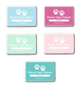 Simon Says Stamp Premium Dye INK PADS Set SWEET TREATS INKSWTR5 zoom image