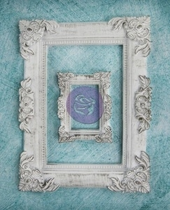 Prima Marketing BAROQUE FRAME Shabby Chic Resin Treasures 892098 Preview Image