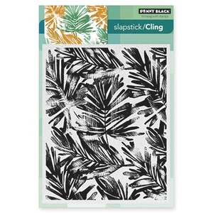 Penny Black Cling Stamp FRONDS Rubber Unmounted 40-314
