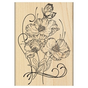 Penny Black Rubber Stamp RED TANGO 4373K* zoom image