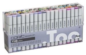 Copic SKETCH 72 PC SET E Markers EEES72E