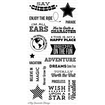 My Favorite Things MAGICAL MEMORIES Clear Stamps*
