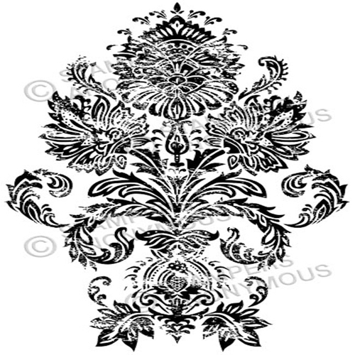 Tim Holtz Rubber Stamp DAMASK 1 Stampers Anonymous U1-2330 Preview Image