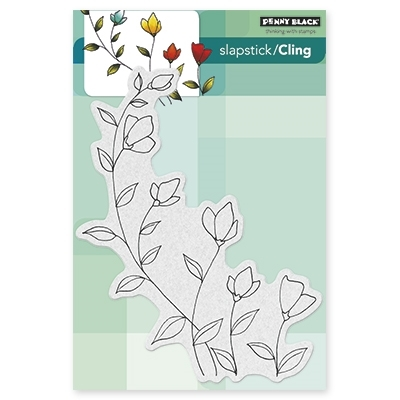 Penny Black Cling Stamp SOFTLY Rubber Unmounted 40-319 zoom image
