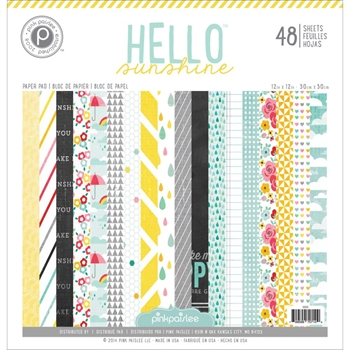 Pink Paislee HELLO SUNSHINE 12 x 12 Paper Pack PP01243