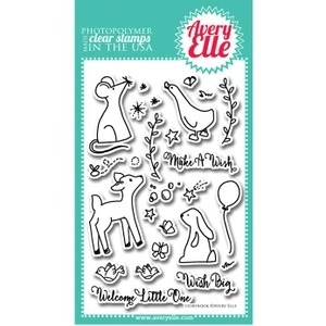 Avery Elle Clear Stamps STORYBOOK Set ST-14-12 or 021358