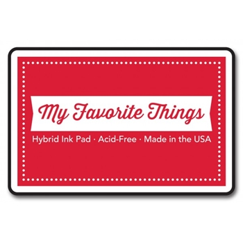 My Favorite Things RED HOT Hybrid Ink Pad MFT