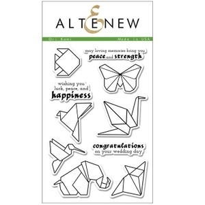 Altenew ORI KAMI Clear Stamp Set AN108