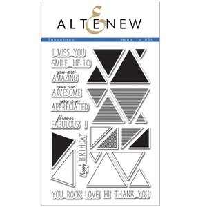 Altenew SOHCAHTOA Clear Stamp Set AN110