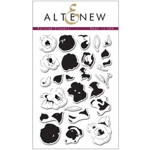 Altenew PAINTED FLOWERS Clear Stamp Set ALT1001