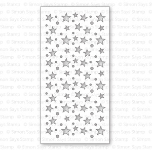 Simon Says Stamp Stencil STARS & DOTS SSST121351 Preview Image