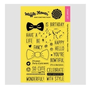 Waffle Flower BOWTIFUL Clear Stamp Set WFS100 Preview Image