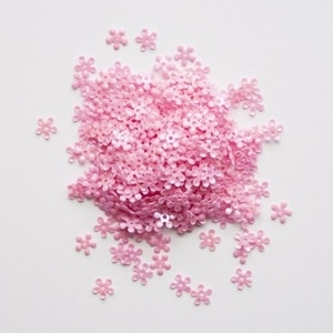 Simon Says Stamp Tiny Flowers DARK PINK Sequins Dpink61 Preview Image