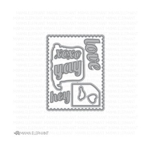 Mama Elephant TYPE IT Creative Cuts Steel Dies  Preview Image