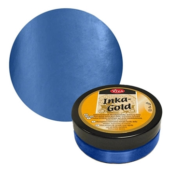 Viva Decor Steel BLUE Inka Gold Beeswax Polish 2.2oz 914 612320