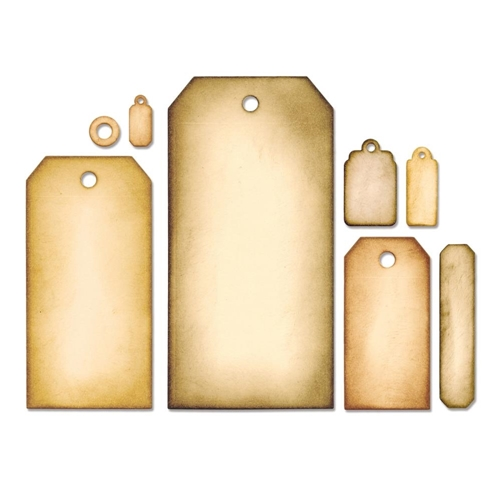 Tim Holtz Framelits Tag Set