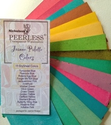 Peerless Joanne Watercolor Palette Colors JPC15 Preview Image