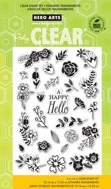 Hero Arts Clear Stamps FLOWER GARDEN CL778  Preview Image