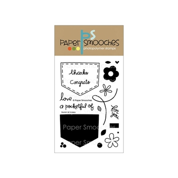 Paper Smooches DENIM & DAISIES Clear Stamps