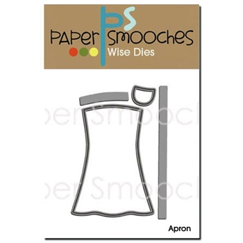 Paper Smooches APRON Wise Dies