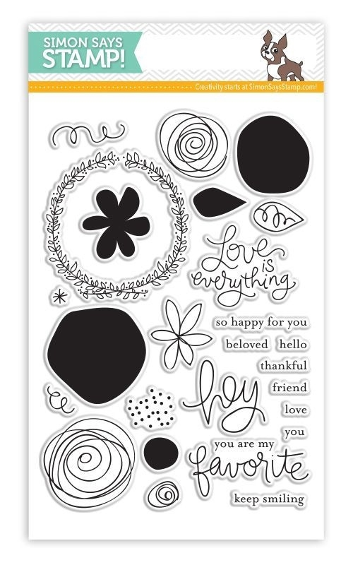 Simon Says Clear Stamps FAVORITE FLOWERS sss101426 zoom image