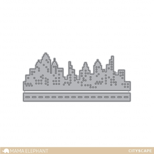 Mama Elephant CITYSCAPE Creative Cuts Steel Dies zoom image