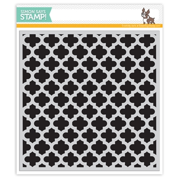 Simon Says Cling Rubber Stamp MOROCCAN BACKGROUND sss101403 Pure Sunshine