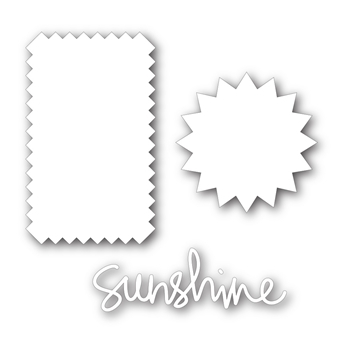 Simon Says Stamp SUN AND SUNSHINE Craft Dies sssd111358 Pure Sunshine *