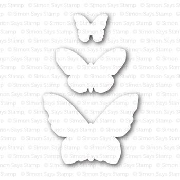 Simon Says Stamp BUTTERFLIES Craft Dies sssd111363 Pure Sunshine *