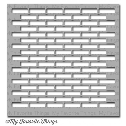 My Favorite Things Small Brick Wall Mix-ables Stencil