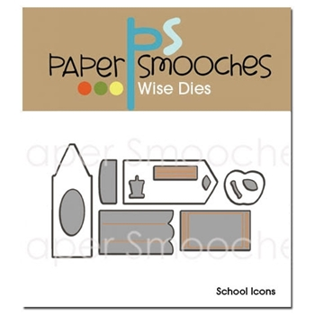 Paper Smooches SCHOOL ICONS Wise Dies*