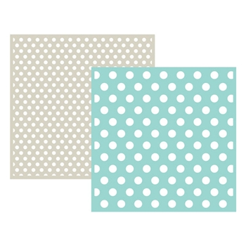 Lifestyle Crafts POLKA DOT Embossing Folders 03709-5