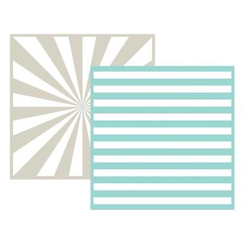 Lifestyle Crafts STRIPE Embossing Folders 03717-0 Preview Image