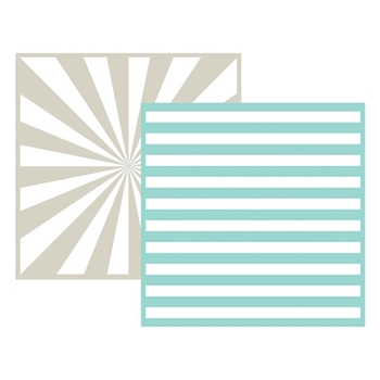 Lifestyle Crafts STRIPE Embossing Folders 03717-0