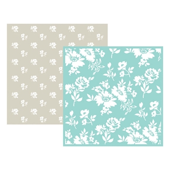 Lifestyle Crafts FLOWER Embossing Folders 03714-9