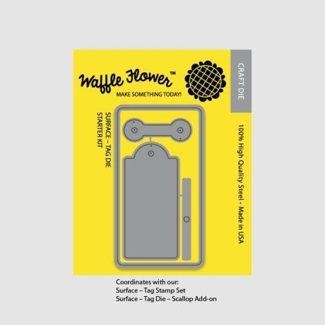 Waffle Flower SURFACE TAG STARTER KIT Die Set 310004 zoom image
