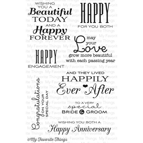 My Favorite Things TOGETHER FOREVER Clear Stamps MFT* Preview Image