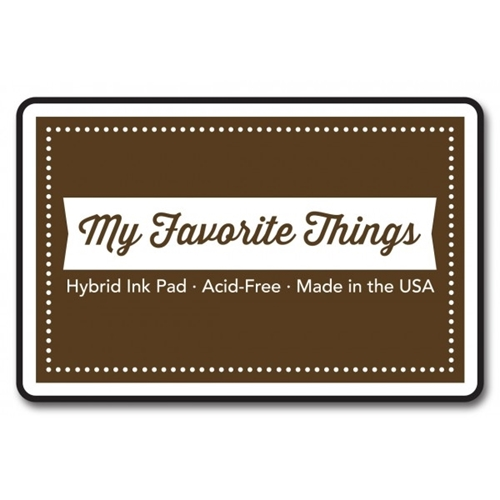 My Favorite Things CHOCOLATE BROWN Hybrid Ink Pad MFT Preview Image