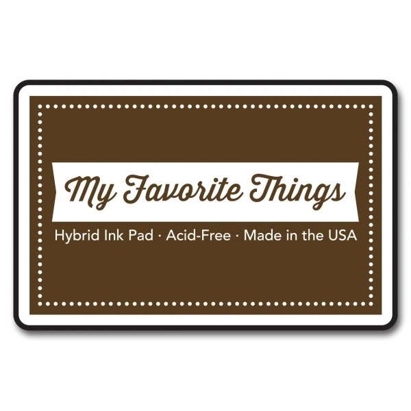 My Favorite Things CHOCOLATE BROWN Hybrid Ink Pad MFT zoom image