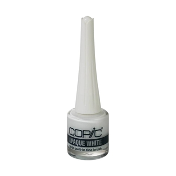 Copic OPAQUE WHITE WITH BRUSH APPLICATOR 053720