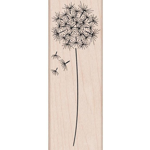 Hero Arts Rubber Stamp DANDELION Flower Seed G4917* Preview Image
