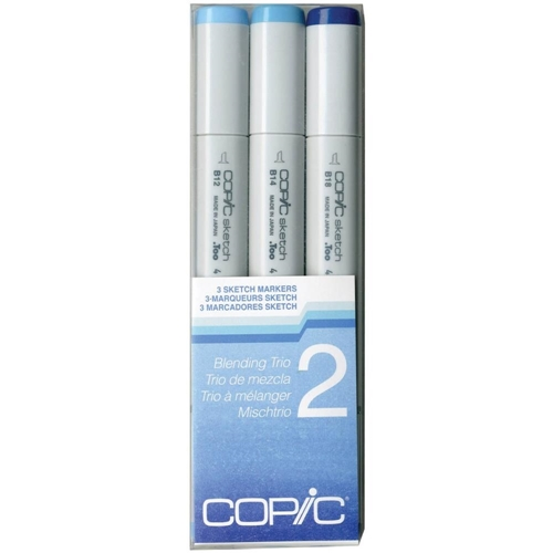 Copic Sketch Marker BLENDING TRIO 2 Set Two 53461 Preview Image