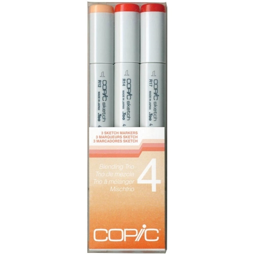 Copic Sketch Marker BLENDING TRIO 4 Set Four 53485 Preview Image